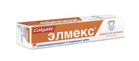 Зубная паста Элмекс – защита от кариеса