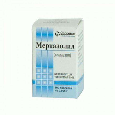 Один из препаратов для лечения тиреоидной патологии