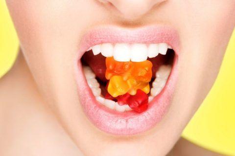 Не рекомендуется кушать мармелад