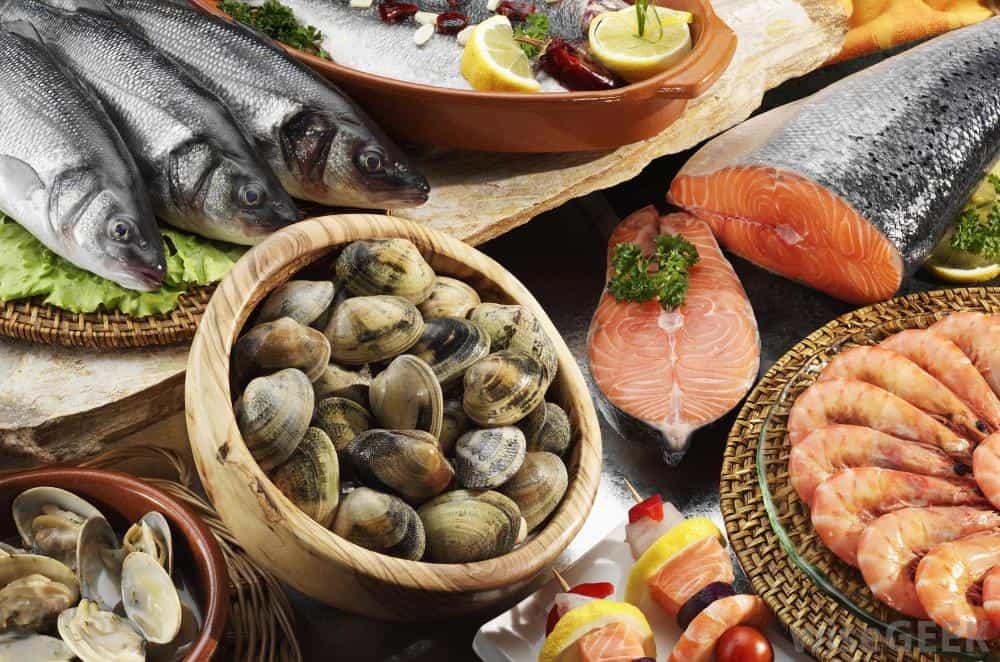 Фото морских продуктов