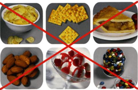 Запрещенные продукты при брекетах
