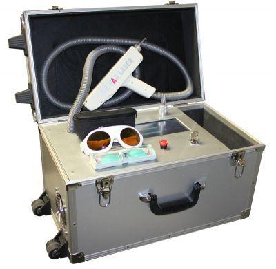 Nd:YAG-лазер с удвоенной частотой излучения, или КТР (неодимовый лазер)
