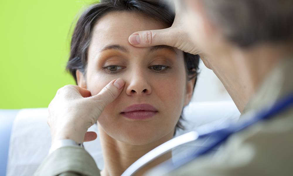 При диагностике нельзя ограничиться только осмотром, определяющими являются результаты инструментальных методик