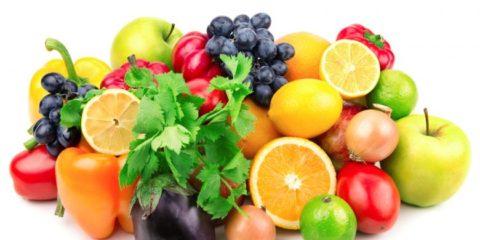 Рацион богатый витаминами повышает иммунитет
