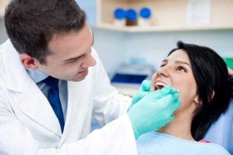 Обследованием должен заниматься стоматолог