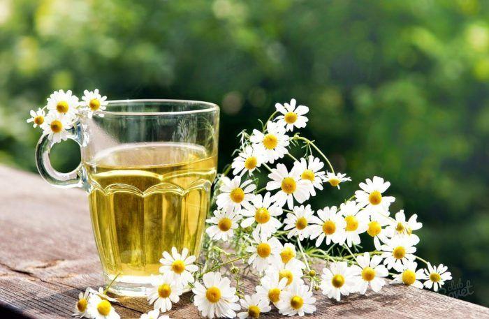 Ромашка — приятный на вкус и полезный раствор для укрепления десен