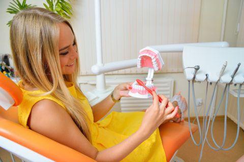 Обучение рациональной гигиене полости рта